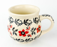 Polish Pottery Stoneware Bubble Mug Manhattan