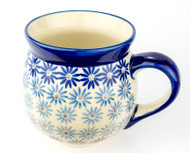 Polish Pottery Stoneware Bubble Mug Jeans