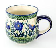 Polish Pottery Stoneware Bubble Mug Clara