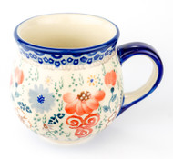 Polish Pottery Stoneware Bubble Mug Audrey