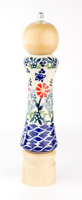 Polish Pottery Pepper Butterfly Delight Light