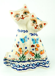 Twin Cat Figurine Maybell