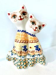 Twin Cat Figurine Tigger
