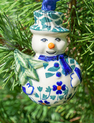 SNOWMAN ORNAMENT Rhine Valley