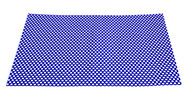 Set of 2 Placemats Blue & White Dot