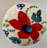 "1"" Drawer Pull Knob Love in Bloom"