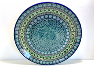 "Polish Pottery Stoneware 10"" Dinner Plate Donahue"