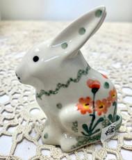 "3"" Bunny Figurine Peach"