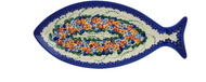 "13"" Fish Shaped Platter Fish Tails"