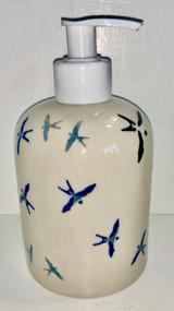 "5"" Soap Dispenser Many Birds"