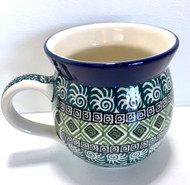 Polish Pottery UNIKAT 12 oz Bubble Mug Donahue