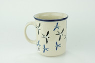 Polish Pottery 10 oz Mug Unikat Many Birds