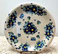"Polish Pottery Stoneware 10"" Dinner Plate Elsa"