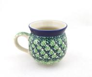 Polish Pottery Stoneware Bubble Mug - So Irish