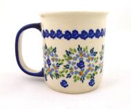 Polish Pottery 10 oz Mug Unikat Day Dreaming