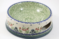 Polish Pottery Large Dog Bowl - Danny's Girl