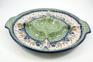 Polish Pottery Divided Serving Platter - Danny's Girl