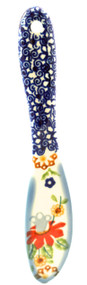 Polish Pottery Butter Knife - Cone Flower