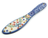 Polish Pottery Butter Knife - Delicate Garden