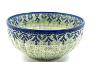 Polish Pottery Serving Bowl -Unikat Lace