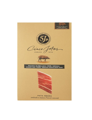 5J Sliced Acorn Fed 100% Iberico Jabugo shoulder, 3 oz  (85 g)