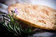 Rosemary and thyme savory olive oil Tortas, 6.34 oz by Ines Rosales  •Made with Extra Virgin Olive Oil •All-Natural ingredients •Suitable for vegans, and dairy free •Since 1910, made by hand in Seville •6.34 oz  180 g