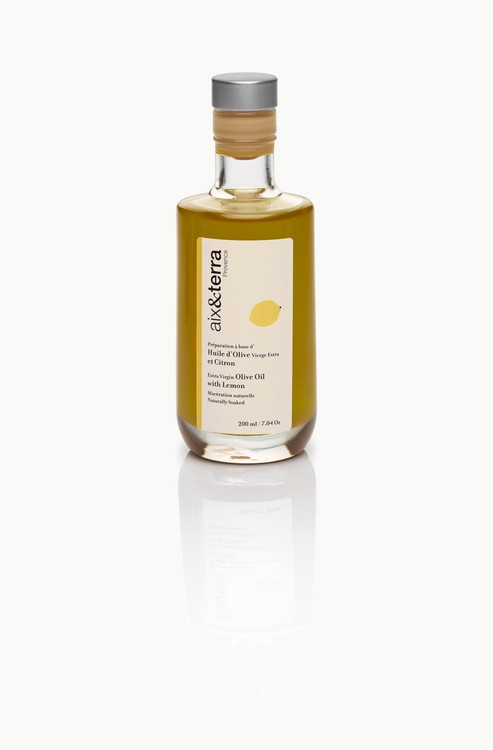 EVOO naturally flavored with lemon