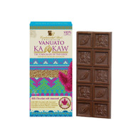 Mexican Gourmet Milk Chocolate and Amaranth By Vanuatu Kakaw 100 Milk Chocolate Vanilla, soy lecithin and sugar Amaranth 7%