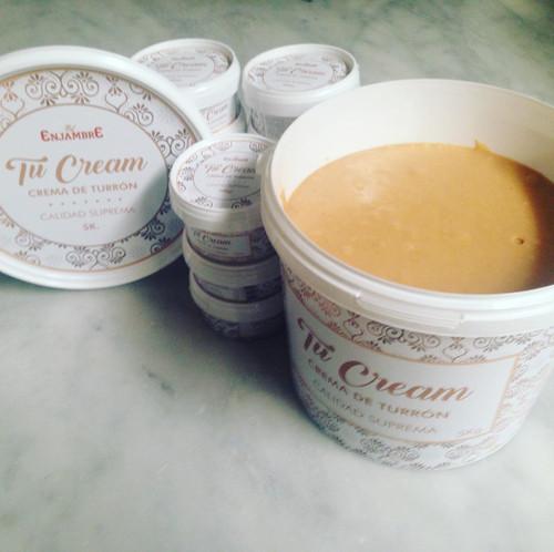 Tucream - Almond butter- Marcona almond spread traditional Spanish jijona turron recipe