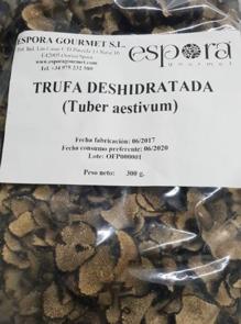 Dehydrated Sliced Truffles  (Aestivum / Summer) 100 gr