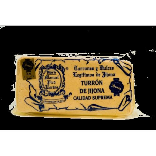 Turron de Jijona - Spanish traditional Almond nougat sweet bar 300g