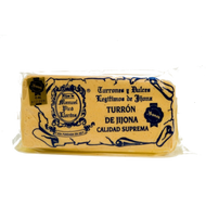 Turron de Jijona - Spanish traditional Almond nougat sweet bar 300g