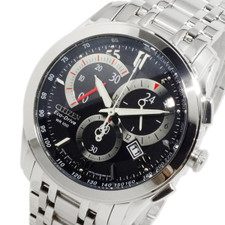 Citizen Mens Eco Drive Chronograph AT1007-51E