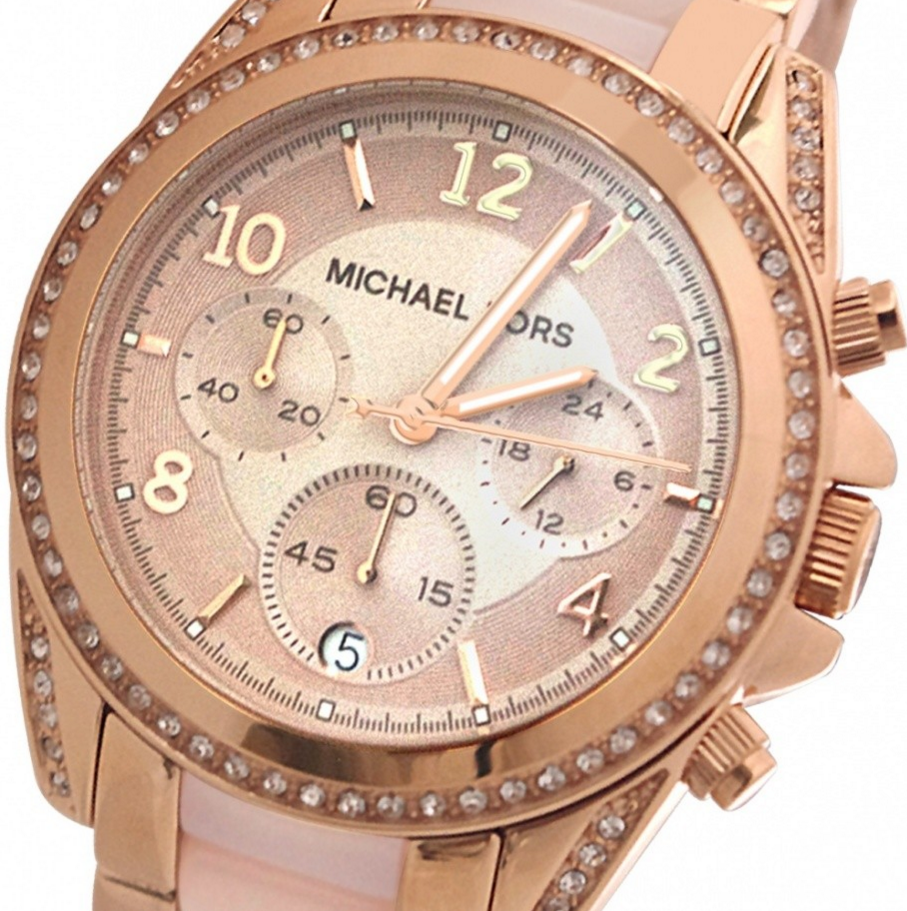 bf1183132133 Michael Kors Womens Blair Chronograph MK5943 - BEST QUALITY WATCHES