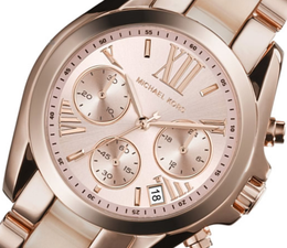 Michael Kors Womens Mini Bradshaw Chronograph MK6066