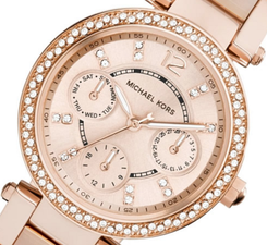 Michael Kors Womens Mini Parker MK6110