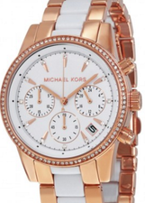 Michael Kors Womens Ritz Chronograph MK6324