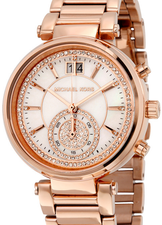 Michael Kors Womens Sawyer Chronograph MK6282