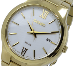 Seiko Mens Solar Watch SNE390P1