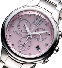 Citizen Ladies Eco Drive Chronograph FB1310-52W