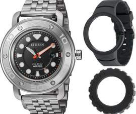 Citizen Eco Drive Divers Mens AW1531-89E