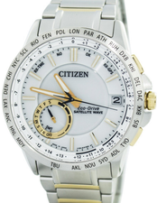 Citizen Eco Drive Satellite Wave World Time CC3006-58A