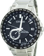 Citizen Eco Drive Satellite Wave World  Heure CC3007-55E