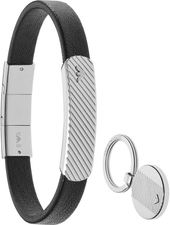 Emporio Armani Mens Bracelet Key Chain Set EGS2389040