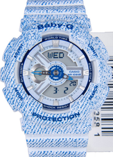 Casio Baby-G Ladies BA-110DC-2A3DR