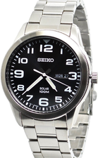 Seiko Mens Solar Watch SNE471P1