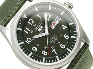 Seiko 5 Sports Men's Automatic Military SNZG09K1