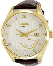 Seiko Mens Kinetic Watch SRN052P1