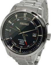 Seiko Mens Kinetic GMT SUN033P1