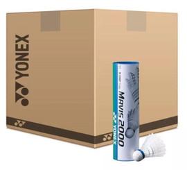 YONEX MAVIS 2000 - SPEED FAST / RED - BOX OF 100 TUBES